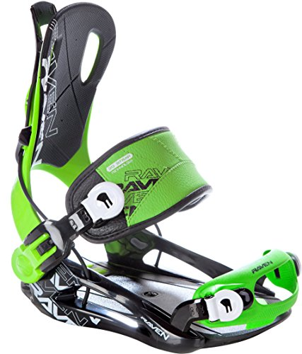 Snowboard Bindung Raven Fastec FT270 Green Größe: XL