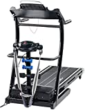 newgen medicals Laufband mit Massageband: 2in1 Profi-Laufband LF-412.multi mit Fitness-Station und Bandmassage (Laufband mit Massagefunktion)