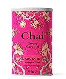 Chai Latte Tee (398g) Flavour Sweet Caramel: Instant-Chai Tee Latte-Mischung in Pulverform, zu genießen zu Hause, im Café, oder im Restaurant, reicht für 15 Tassen