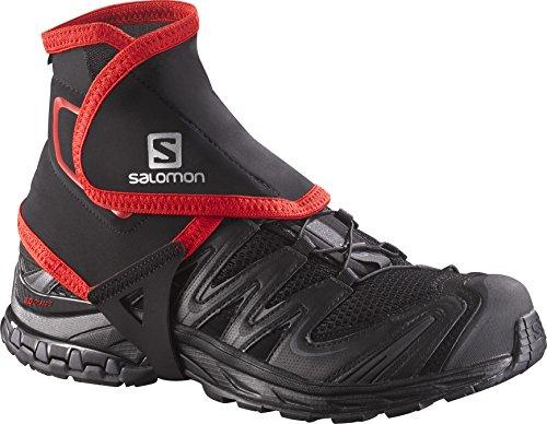 Salomon Gamaschen (1 Paar) Lang, Trail Gaiters High, schwarz, Gr. M, L38002100