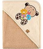 Be Mammy Kapuzenhandtuch Babyhandtuch aus Baumwolle Oeko-Tex Standard 100 100cm x 100cm BE20-240-BBL