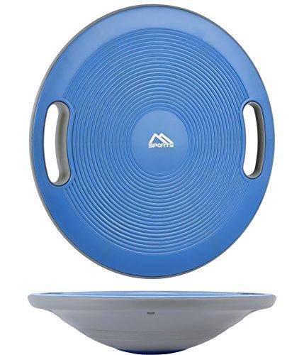 Balance Board 40 cm Durchmesser Therapiekreisel Physiotherapie Wackelbrett (Blue)