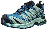 Salomon Damen Traillaufschuhe Traillaufschuhe, XA Pro 3D GTX , Gr. 37 1/3 (Herstellergröße: 4.5), Blau (Fog Blue/Igloo Blue/Tonic Green)