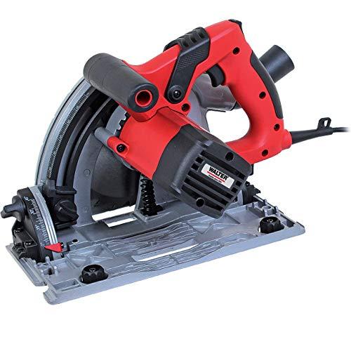WALTER Werkzeuge Tauchsäge 1200W, rot/schwarz, für Gehrungsschnitte bis 45°