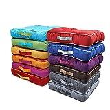 Unbekannt Stuhlkissen Matratzenkissen Bodenkissen Sitzkissen, Auflage, 40 x 40, 8 cm Dicke, Farbe:ROT
