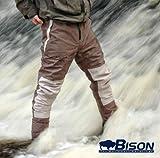 Bison atmungsaktiver Strumpffuß mit wasserfester Hose, Größe M, L, XL, XXL, XXXL, Large