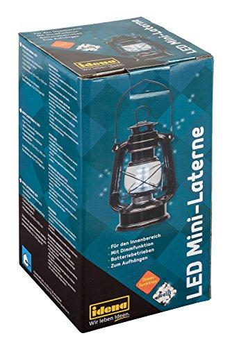 LED Mini Laterne, ca. 10 x 10 x 19 cm