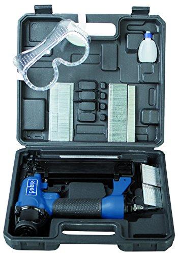 Scheppach Druckluftnagler-Set, 1 Stück, blau / schwarz, 7906100715