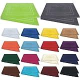 Badvorleger / Badematten / Badteppich - 2er Pack / 4er Pack - in vielen Farben - Baumwolle 800g/m² - 50x80 cm