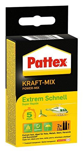 Pattex Kraft Mix Extrem Schnell 2 x 12 g, PK6ST