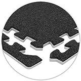 OL:Pro Olpro Teppich-Fliesenkanten, aufgeschäumt, Grau, 8 Stück