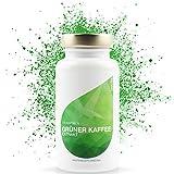 LEOVita Grüner Kaffee Extrakt • Fettverbrennung durch erhöhten Stoffwechsel • schnell Abnehmen • Grüner Kaffee Kapseln hochdosiert mit viel Chlorogensäure • 110 Kapseln • 100% Vegan • hergestellt in Deutschland • 100% Zufriedenheitsgarantie