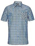 Vaude Herren Albsteig Shirt Hemd, Radiate Blue, XXL