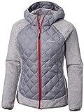 Columbia Jacke für Damen, Techy Hybrid Fleece, Polyester, Grau (Astral/White Stripe), Gr. M, 1748421