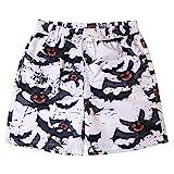 BURFLY Paar Freizeithosen Strandhosen Badebekleidung - personalisierte gemalte Shorts trockene Hosen schnell trocknend Strand surfen Lauf Badehose