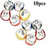 Jonglierbälle für Anfänger, Joyibay 10 STÜCKE Jonglierball Set Kreative Lustige Pädagogische Jonglierbälle zum Ballspielen für Jungen, Mädchen und Erwachsene, Langlebig und Weich