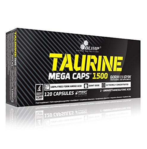 Olimp Taurin Mega Caps 120 Kapseln, 1er Pack (1 x 202,8 g)