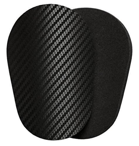 Kleine leichte dünne weiche Schienbeinschoner / XS lite / 3D-Carbon / 20 Gramm / Gute Flexibilität / Erhöht Tragekomfort / Kinder und Erwachsene / Zum Einstecken - Einschieben / Fixierung mit Tape