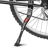 phixilin Fahrradständer Seitenständer Wasserdicht Langlebig Faltbar Fahrrad Seitenständer Einstellbarer Universal Aluminiunlegierung Fahrrad Ständer Hinterbauständer für MTB, Rennrad, Fahrräder usw