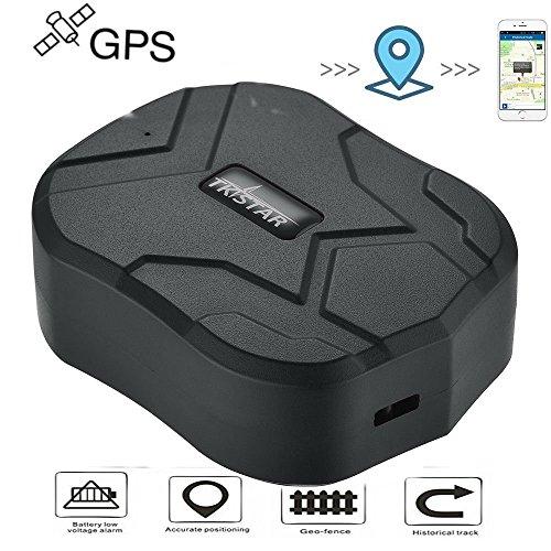 GPS Tracker , 150 Tage Lang Standby GPS Ortung, Wasserdicht Echtzeit tracking GPS Locator Professional Anti-verloren GPS Alarm Car Tracker für Auto lkw Moto Gefrier Boot mit Freier APP