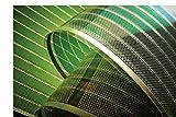 Photovoltaik Modul | Transparent | Solarfolie | OPV PV Solar | Organic Photovoltaic | GRÜN