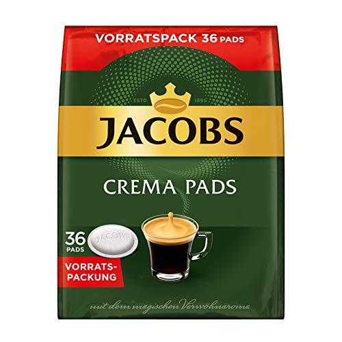 Jacobs Crema Klassisch 36 Kaffee Pads Vorratspack, 5er Pack (5 x 237 g)