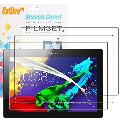 3 x EnGive Displayschutzfolie Lenovo TAB 2 A10-70 25,7 cm (10,1 Zoll) Schutzfolie Folie (Lenovo TAB 2 A10-70)
