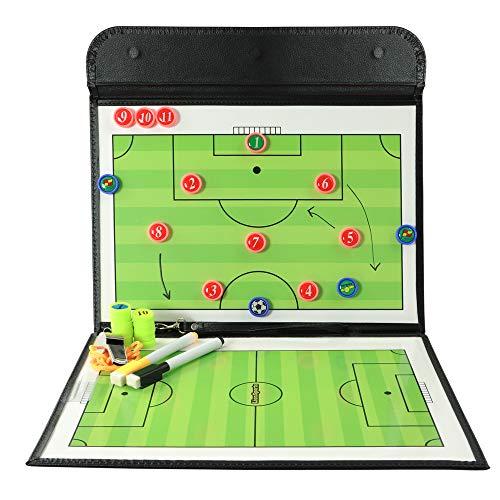 LionSports Taktiktafel Mit 2 Stiften (Schwarz)