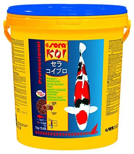 sera 07009 KOI Professional Frühjahr-/Herbstfutter 7 kg - das leicht verdauliche Futter für Temperaturen unter 17 °C
