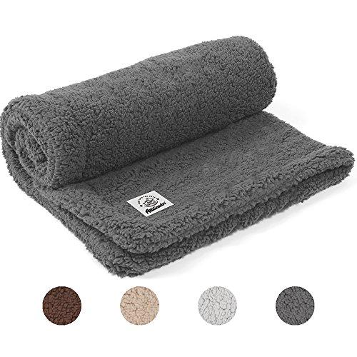Allisandro Decke Hundedecke für Haustier Hund Katze Super Soft und Flauschig Premium SHU Velveteen Decken gleichermaßen für Hund Katze