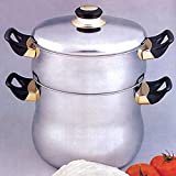 SA-FA Couscous Kuskus Topf Bulgur 8 Liter Nudeln Spaghetti Reis Wasser 18/10 Edelstahl
