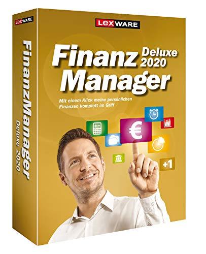 Lexware FinanzManager Deluxe 2020 Box|Einfache Buchhaltungs-Software für private Finanzen und Wertpapier-Handel|Kompatibel mit Windows 7 oder aktueller