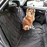 Heldenwerk Autoschondecke Hund Rücksitz - Hundedecke für Auto Rückbank wasserdicht - Schutz Autodecke für Hunde mit Seitenschutz zum Hundetransport