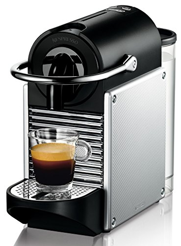 De'Longhi Nespresso EN 125.S Kapselmaschine (1260 Watt, 0,7 Liter, Pixie Electric) silber