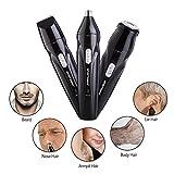 XINCARE 3 in 1 USB nachladbare 360 Grad Nasen Ohren Haar Schneider Trimmer elektrischer Bart Kotelette Achseln Haar Rasiermesser Entferner Gesichts Rasieren Groomer Set