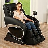 Massagesessel Relaxsessel Entspannungssessel Massage Sessel Fernsehsessel (Schwarz)