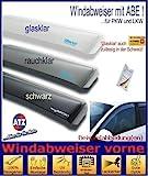 ClimAir CLS0033188D 3188D Windabweiser Profi Vorne, Schwarz