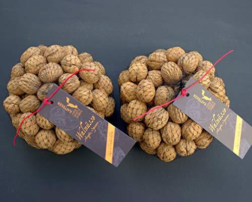 Walnüsse 2 x 1 Kg ganz mit Schale, sehr gute Qualität, aus Spanien, mild und frisch! Zufrieden oder Rückerstattung ;-)