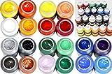 Magi Studio-Acryl Mega-Farbset 20 x 250 ml Tube, Insgesamt 5.000 ml Künstlerfarbe Acrylfarbe