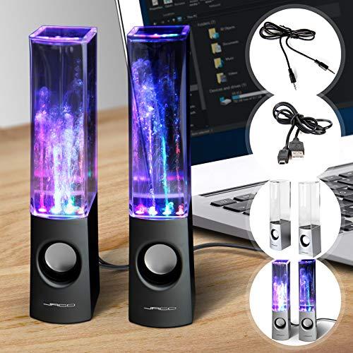 Wasserspiel-Lautsprecher   USB, LED tanzenden, Lichteffekten, 2x3 Watt   Music Box, Tragbare Lautsprecher, Computer Speakers
