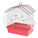 SM SunniMix Vogelkäfig Vogelhaus Vogelvoliere für Papageien Wellensittiche Kanarienvögel, 28x20x30 cm, zufällige Farbe