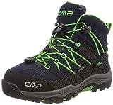 CMP Rigel Mid WP Unisex-Kinder Trekking-& Wanderschuhe, Blau (B.Blue-Gecko), 36 EU