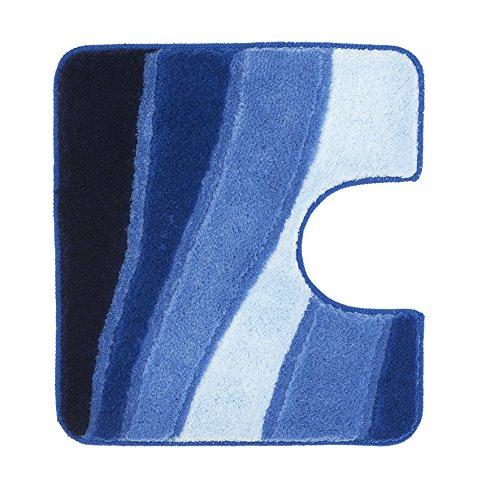 Meusch 2322799130 WC-Vorleger Ocean, 55 x 50 cm, royalblau