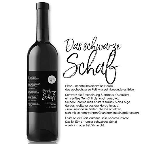 DER WEIN   DAS SCHWARZE SCHAF   Dornfelder 2017   trocken   0,75 l   Qba   Rotwein   Deutschland   besonderer Winzerwein   Pfalz