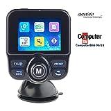 auvisio DAB Auto: DAB+/DAB-Empfänger, FM-Transmitter, Bluetooth, Freisprecher, MP3, USB (Kfz DAB)