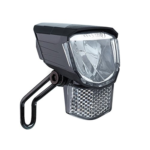 Büchel LED-Frontscheinwerfer 'Tour', 45 Lux, mit Standlicht, StVZO zugelassen, schwarz, 51251511, schwarz