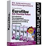 Eurofibu E/A 2019 StartUp Paket: Die Komplettlösung mit Eurofibu Einnahmen-/Ausgabenrechnung + Wareneingangsbuch + Kostenrechnung + UVA + ... / Die österreichische Buchhaltungssoftware)