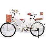 Xian Fahrrad für Erwachsene 22' Road Bike Tandem-Fahrrad Fahrrad mit Kindersitz