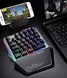 bescita G40 Gaming Tastatur 35 Tasten Single One Hand Mechanische USB Corded Tastatur Für PUBG LOL Gamer