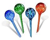Blumen Bewässerungskugeln, Fascigirl 4 Packungen aus Glaspflanze Gießkugeln Selbstbewässernde Aqua Globen